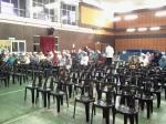 Sebahagian peserta yang telah mendaftar masuk untuk program seminar JKKK.